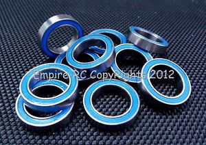 high temperature (100 PCS) 6701-2RS (12x18x4 mm) Rubber Sealed Ball Bearing Bearings BLUE 6701RS