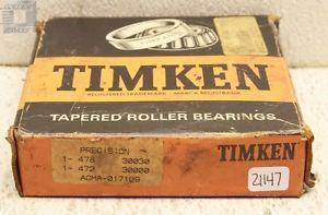 high temperature Timken 478 Tapered Roller Bearings