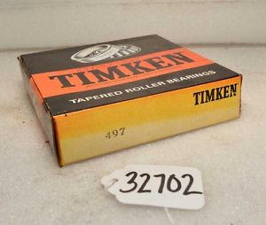 high temperature Timken 497 Tapered Roller Bearing (Inv.32702)