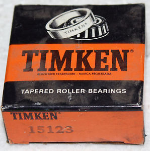 "high temperature NIB Timken 15123 Tapered Roller Bearing 1 1/4"" ID"