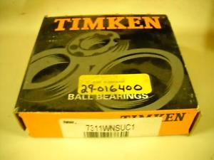 high temperature Timken 7311WN SUC1 New Bearing