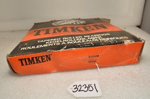 high temperature Timken 215098 Tapered Roller Bearing (Inv.32351)