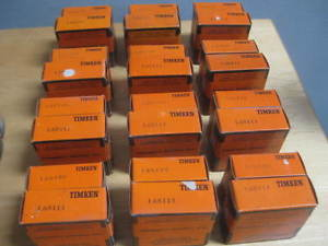 high temperature 24 TIMKEN TAPERED ROLLER BEARINGS PART LOT 12 L68149 & 12 L68111  OLD STOCK