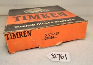 high temperature Timken NA74525 Tapered Roller Bearing (Inv.32761)