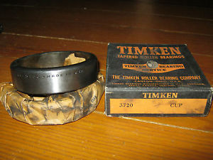 high temperature Vintage NOS Timken 3720 Tapered Roller Bearing Race Cup