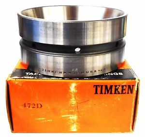 "high temperature TIMKEN 472D TAPERED ROLLER BEARING DOUBLE CUP, 4.724"" OD"