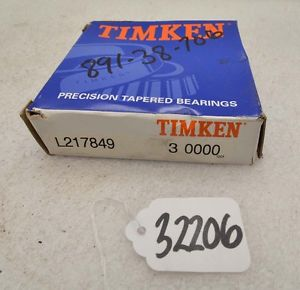 high temperature Timken L217849 tapered roller bearing (Inv.32206)