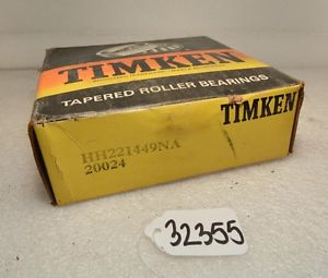high temperature Timken HH221449NA Tapered Roller Bearing (Inv.32355)