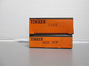 high temperature TIMKEN CUP AND BEARING SET 3120/3193