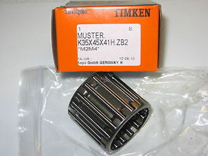high temperature Timken K35x45x41H.ZB2 Needle & Cage Bearing Assembly Caterpillar 361-2935