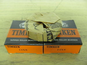 high temperature two Timken 14XS Bearing