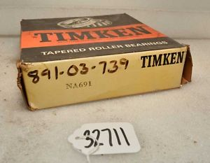 high temperature Timken NA691 Single Roller Bearing (Inv.32711)
