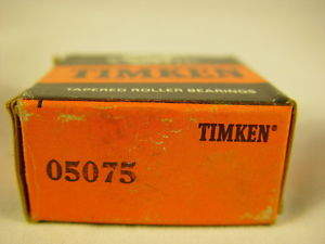 "high temperature Timken 05075 Tapered Roller Bearing, Single Cone 0.7500"" ID, 0.5660"" Width"
