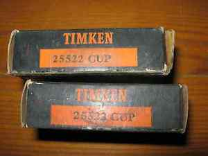 high temperature Vintage NOS Timken 25522 Tapered Roller Bearing Cup