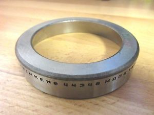 "high temperature Timken Tapered Roller Bearing 44348,  Single Cup; 3.484"" OD x 11/16"" Wide, USA"