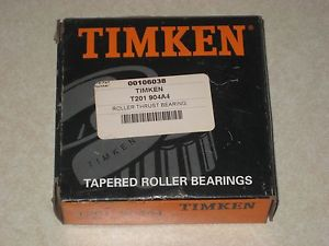 high temperature New In Box Timken T201 904A4 Roller Thrust Bearing
