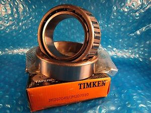 high temperature Timken JM207010 and JM207049, Cup and Cone Tapered Bearing Set
