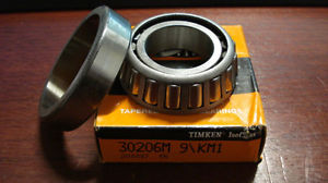 high temperature TIMKEN 30206M, Assembled Tapered Roller Bearing, 30mm x 62mm x 17.25mm, /GO3/ RL
