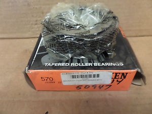 high temperature Timken Tapered Roller Bearing Cone 570 New