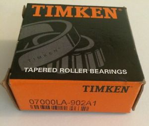 high temperature Timken 07000LA 902A1, Tapered Roller Bearing Cone