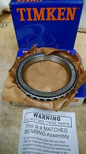 high temperature (1 Matched Cup and Cone Set) LL217849 90010 Timken Roller Bearing Assembly