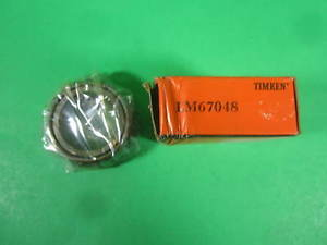 high temperature Timken Bearing — LM67048 — New