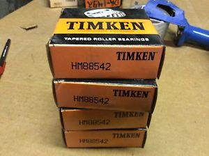 high temperature 4-Timken-Bearing,#HM88542,Free shipping lower 48, 30 day warranty!