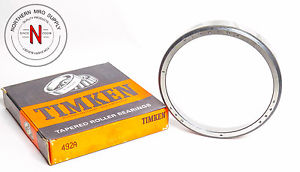 "high temperature TIMKEN 492A TAPERED ROLLER BEARING CUP,  OD: 5.250"", W: .875"""
