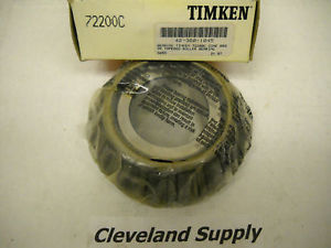 high temperature TIMKEN 72200C TAPERED ROLLER BEARING CONE   CONDITION IN BOX