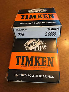 high temperature TIMKEN PRECISION TAPERED ROLLER BEARING 339  3 0000 ~ New in box