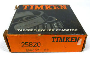 high temperature Timken 25820 Tapered Roller Bearing Outer Race Cup
