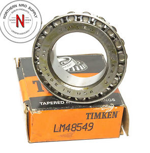 "high temperature TIMKEN LM48549 TAPERED ROLLER BEARING, 1.375"" ID, .72"" CONE WIDTH"