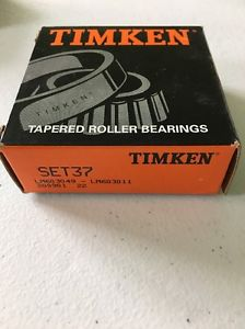 high temperature Timken Set37  LM603049 – LM603011 Tapered Roller Bearing Cone & Cup