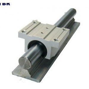 high temperature 2XTBR25-800mm 25MM FULLY SUPPORTED LINEAR RAIL SHAFT+ 4 TBR25UU Rounter Bearing