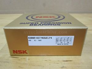 high temperature NSK PRECISION BEARING ANGULAR CONTACT BEARING 60BNR10STYNDUELP4