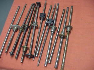 high temperature Lot of Ballscrews and Linear shafts and Bearings THK, NSK, etc.  Free Shipping!