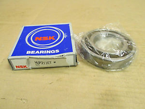 high temperature NIB NSK NUP211ET CYLINDRICAL ROLLER BEARING NUP211 ET 55x100x21 mm