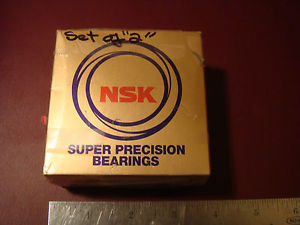 high temperature 2 (1 pair) NSK Super Precision Bearing 7207A5TRDUMP4Y (OLD7207A5TYDUM-P4)