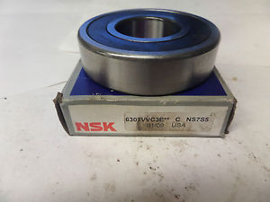 high temperature NSK Rubber Shielded Bearing 6307VVC3E 6307V New