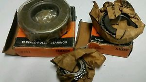 high temperature 3-TIMKEN TAPERED ROLLER BEARINGS T151,1986,AND 1174