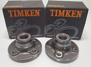 high temperature 2 New Timken Rear Wheel Hub Bearing Fits 91-99 Nissan Sentra 200SX FWD 512025