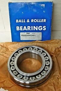 high temperature NSK 22220CDE4/C3/S11 – SPHERICAL ROLLER BEARING *** IN BOX***