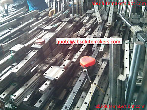 high temperature THK HSR25LA NSK IKO Used Linear Guide Rail Bearing CNC Router Various Length