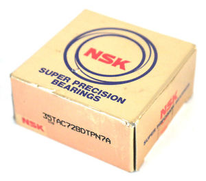 high temperature BOX OF 2  NSK 35TAC72BDTPN7A SUPER PRECISION BEARINGS