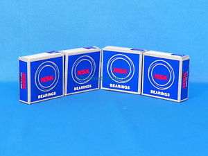 high temperature NSK 6004ZZC3 Bearings (New, Lot of 4 pieces)
