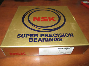 high temperature NSK Super Precision  Bearings  722OCTRDULP4Y Set of two –