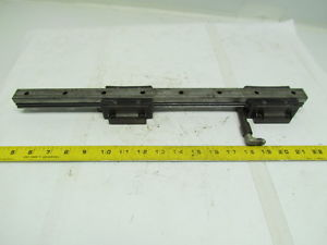 high temperature NSK LGY25 460mm Linear Guide Rail W/2 Bearing Blocks