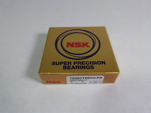 high temperature NSK 7208CTRDULP3 Precision Angular Contact Bearing 40X80X18 !  !