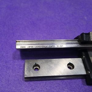 high temperature NSK LE090140ULK1J04P51 LM Guide Linear Bearing 1Rail 1Block Lot of  2, USED