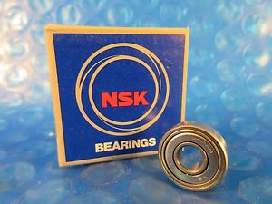 high temperature NSK 606ZZ, 606 ZZ Single Row Radial Bearing; 6 mm ID x 17 mm OD x 6 mm Wide